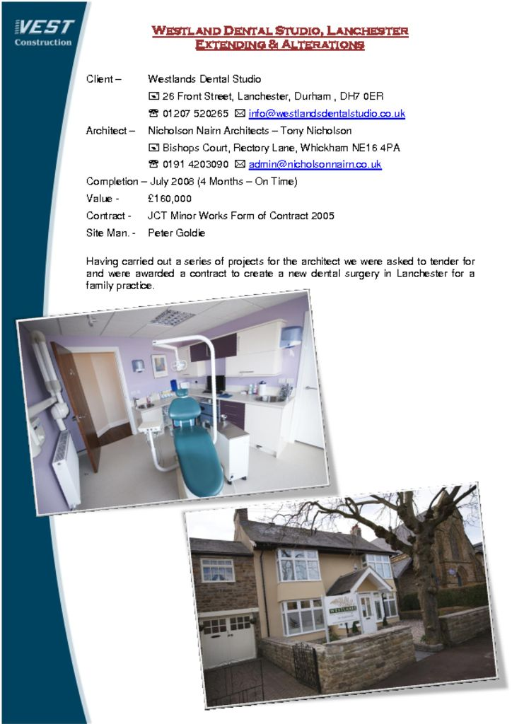 thumbnail of project-info-westlands-dental-studio-lanchester